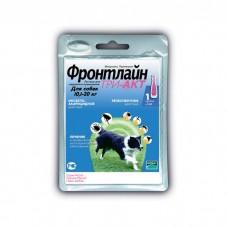 MERIAL ФРОНТЛАЙН ТРИ-АКТ М против клещей и блох для собак 10-20 кг пипетка 2 мл