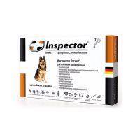 INSPECTOR от блох, клещей, глистов для собак от 25 до 40кг