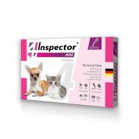 INSPECTOR MINI от блох, клещей, глистов для котят и щенков от 0.5 до 2 кг