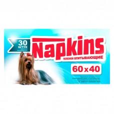 NAPKINS впитывающие пеленки для собак 60x40