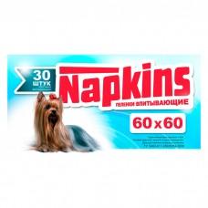 NAPKINS впитывающие пеленки для собак 60x60