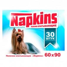 NAPKINS впитывающие пеленки для собак 60x90