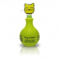 PET HEAD черничный шампунь-спрей без смывания для кошек без сульфатов и парабенов