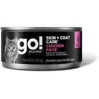 GO! CHICKEN PATE CF с курицей консервы для кошек всех возрастов 100г
