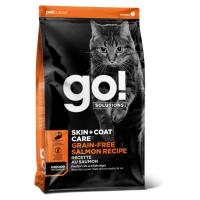 GO! SOLUTIONS SKIN+COAT CARE беззерновой с лососем для котят и кошек