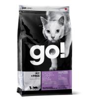 GO! NATURAL HOLISTIC FIT+FREE беззерновой с курицей, индейкой, уткой и лососем для энергичных котят и кошек