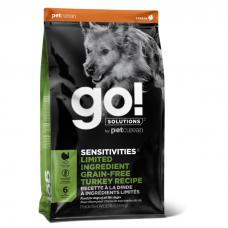 GO! SOLUTIONS SENSITIVITIES LIMITED INGREDIENT беззерновой с индейкой для щенков и собак