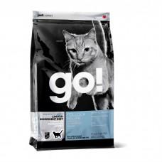 GO! NATURAL HOLISTIC беззерновой с минтаем для котят и кошек с чувствительным пищеварением