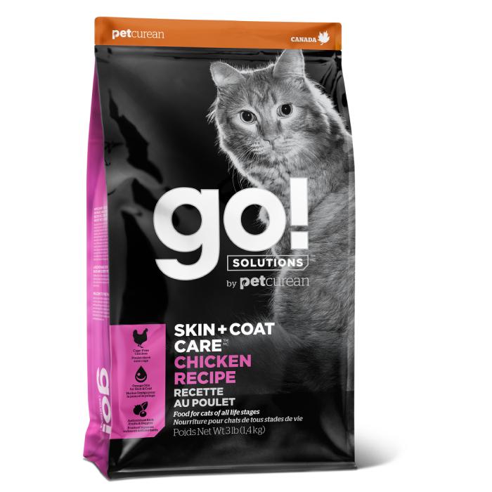 Фото - GO! SOLUTIONS SKIN+COAT CARE с цельной курицей и рисом для котят и кошек