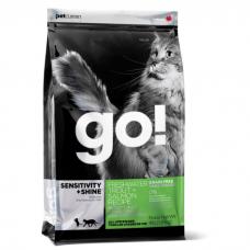 GO! NATURAL HOLISTIC с форелью и лососем для котят и кошек с чувствительным пищеварением