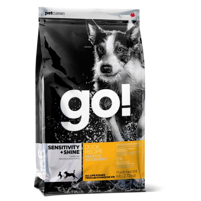 Фото - GO! NATURAL HOLISTIC с уткой и овсянкой для щенков и собак с чувствительным пищеварением