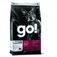 GO! NATURAL HOLISTIC беззерновой с ягненком для щенков и собак c чувствительным пищеварением