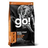 GO! SOLUTIONS SKIN+COAT CARE с лососем и овсянкой для щенков и собак