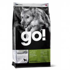 GO! NATURAL HOLISTIC беззерновой с индейкой для щенков и собак с чувствительным пищеварением