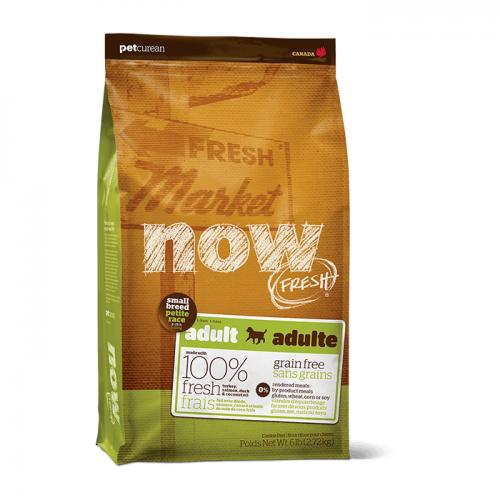 NOW FRESH  беззерновой с индейкой, уткой и овощами для взрослых собак малых пород