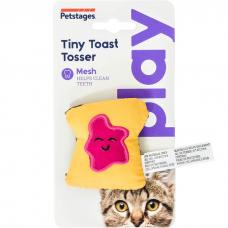 Игрушка для кошек PETSTAGES PLAY МИНИ-ТОСТ с кошачьей мятой