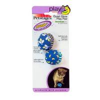PETSTAGES МЯЧ ТЕКСТИЛЬ игрушка для кошек 2 шт