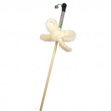 GOSI 07096 НОРКОВЫЙ БАНТИК НА ВЕРЕВКЕ махалка игрушка для кошек