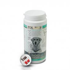 POLIDEX SUPER WOOL PLUS витамины для шерсти, кожи и когтей для собак крупных пород 300 таблеток