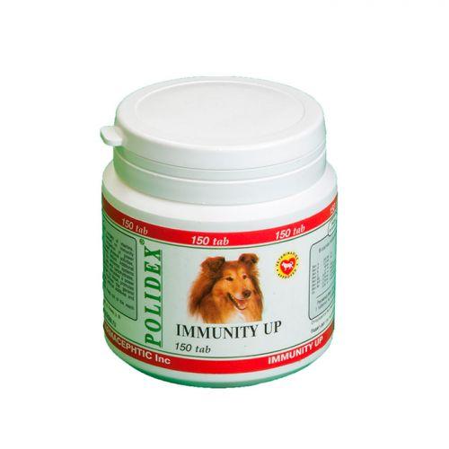 POLIDEX IMMUNITY UP при ослабленном иммунитете витамины для малых и средних пород