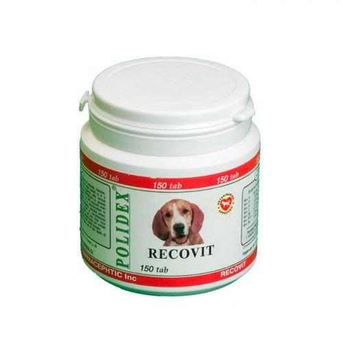 POLIDEX RECOVIT для восстановления и улучшения метаболизма витамины для малых и средних пород