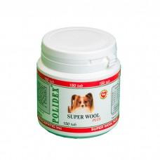 POLIDEX SUPER WOOL PLUS для здоровья кожи и шерсти витамины для малых и средних пород