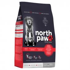 NORTH PAW ATLANTIC SEA FOOD беззерновой с рыбой и лобстером для взрослых собак всех пород 2.25кг