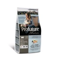 PRONATURE HOLISTIC ADULT с атлантическим лососем и коричневым рисом для здоровья кожи и шерсти кошек