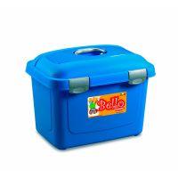 STEFANPLAST Bello контейнер для хранения сухого корма на 26 л (до 10 кг) голубой
