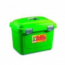 STEFANPLAST Bello контейнер для хранения сухого корма на 26 л (до 10 кг) зеленый