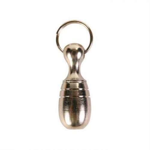 TRIXIE 2280 медальон-адресник Хромированный в форме кегли