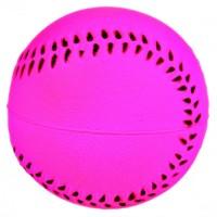 TRIXIE 3443 мяч ворсо-резиновый для собак 6см розовый
