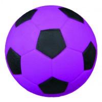 TRIXIE 3443 мяч ворсо-резиновый для собак 6см синий неон