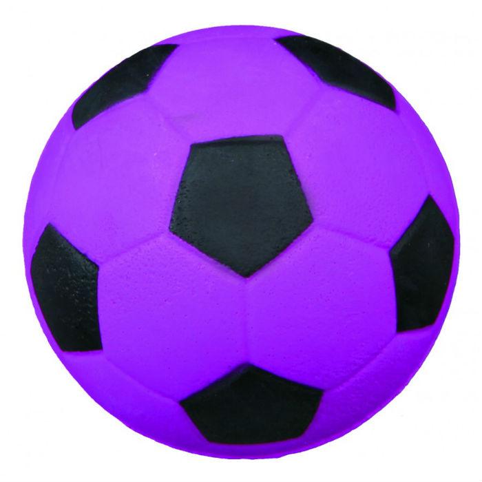 Фото - TRIXIE 3443 мяч ворсо-резиновый для собак 6см синий неон