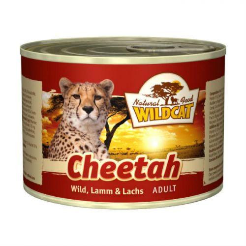 WILDCAT Cheetah с индейкой олениной бараниной консервы для кошек 200 г