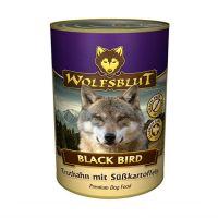 WOLFSBLUT ЧЕРНАЯ ПТИЦА с индейкой и бататом консервы для взрослых собак