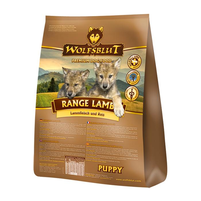 Фото - WOLFSBLUT RANGE LAMB Puppy с бараниной и рисом для щенков