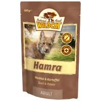 WILDCAT HAMRA с перепелом и картофелем пауч для кошек 100 г