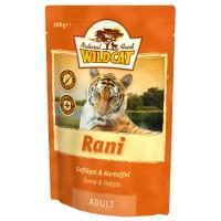 WILDCAT RANI с уткой фазаном и индейкой пауч для кошек 100 г