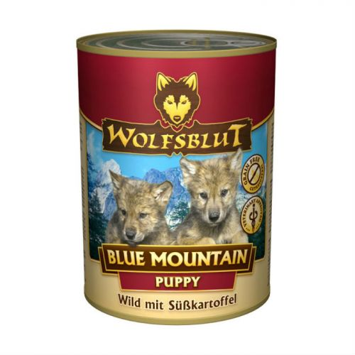 WOLFSBLUT ГОЛУБАЯ ГОРА с олениной и бататом консервы для щенков