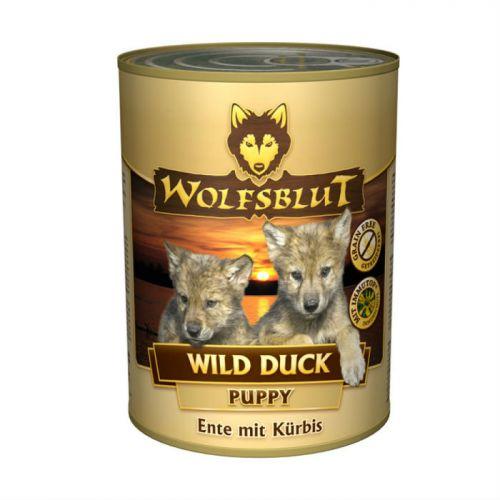WOLFSBLUT WILD DUCK с уткой и бататом консервы для щенков