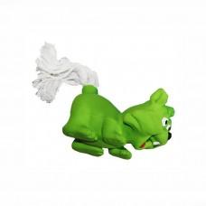 ZIVER ЛИСА С ВЕРЕВОЧНЫМ ХВОСТОМ игрушка для собак 8 см