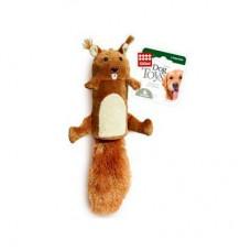 GIGWI 75015 Dog Toy Белка с большой пищалкой