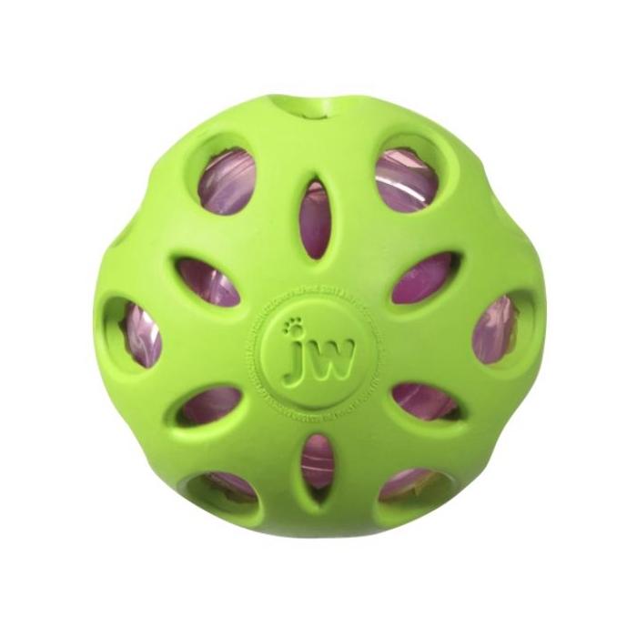 Фото - JW CRACKLE HEADS CRACKLE BALL DOG TOYS Мяч сетчатый хрустящий