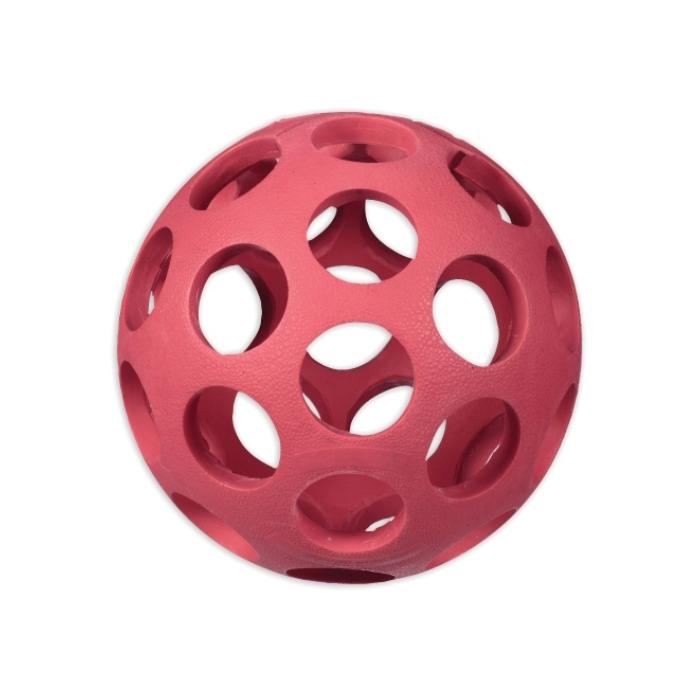 Фото - JW 43115 HOL-EE BOWLER DOG TOYS мяч с круглыми отверстиями малый
