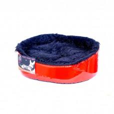 PET HEAD КРАСНЫЙ ЛАК ультрамодный мягкий лежак в двух размерах
