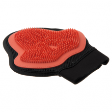 V.I.PET 3007 Рукавица силиконовая на руку малая красная